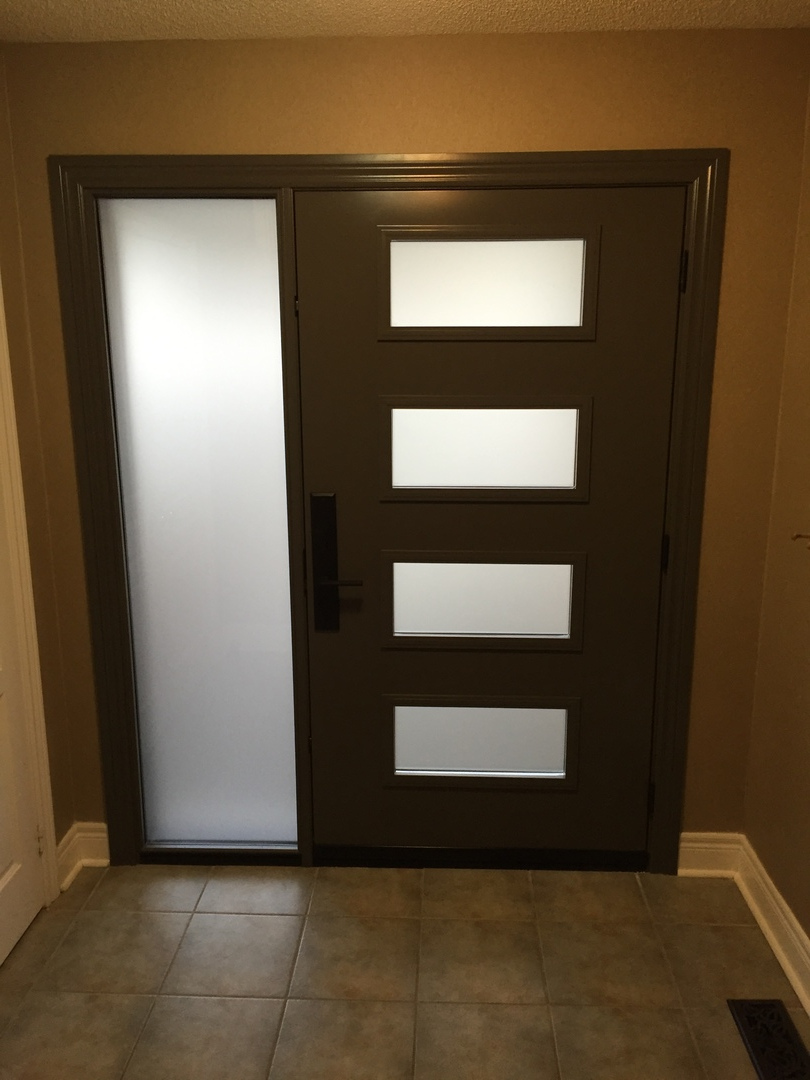 Victoria Shaker Steel Entry Doors