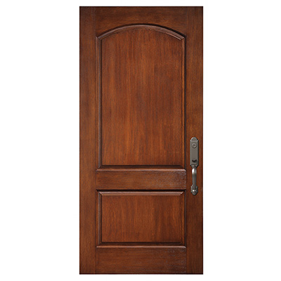 2 Panel Camber Top  Fiberglass Entry Door