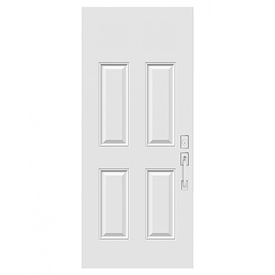 4 Panel Fiberglass Entry Doors by Jefnik Windows & Doors