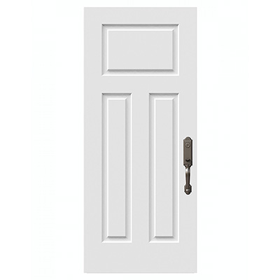 Victoria Shaker Steel Entry Door